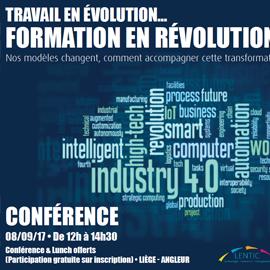 Conférence « Travail en évolution… Formation en révolution ! »