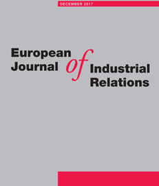 Publication – Article dans la revue « European Journal of Industrial Relations »