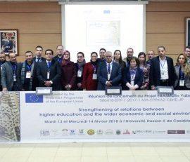 Kick Off Meeting du projet Yabda ces 13 et 14 février à Casablanca