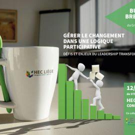 12 juin 2019 – Business Breakfast – « Gérer le changement dans une logique participative »