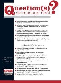 Témoignage dans «Question(s) de management»